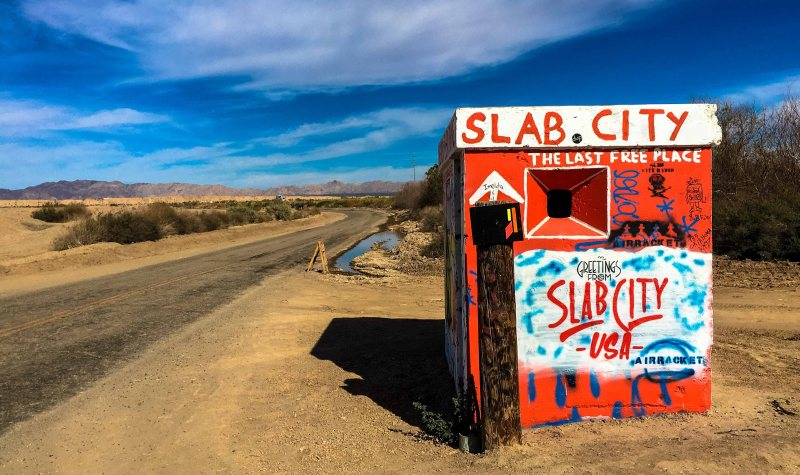 Salvation Mountain.Slab City2